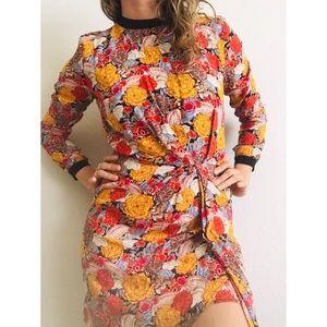 Zara brand floral dress